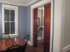 Kemper Place Remodeling Project, Dining Room with historic trim and doors