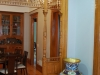 This decorative wood work was re-located from the original third floor apartment.