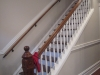 Kemper Place Remodeling Project, original stair with new railings