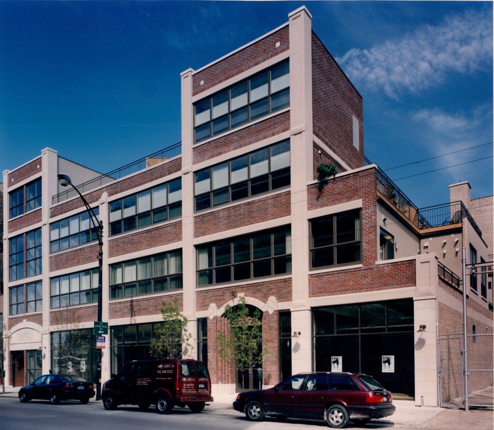 Hedman Lofts, AFTER its conversion into loft condominiums