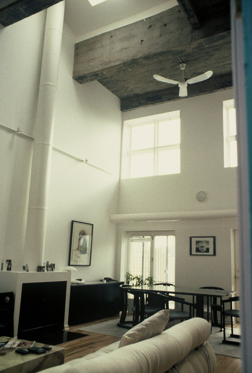 Boiler House Lofts, interior of dwelling unit