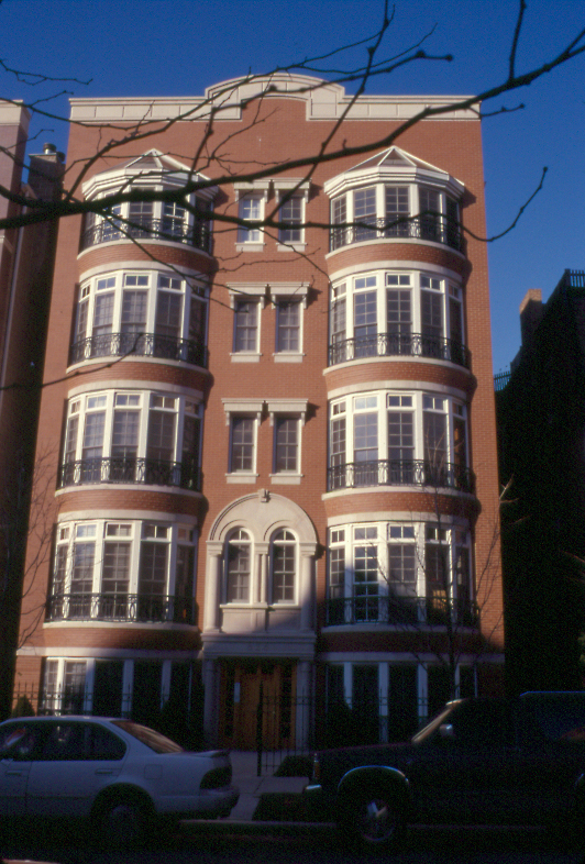Condominium Project at 632 West Wrightwood, facade