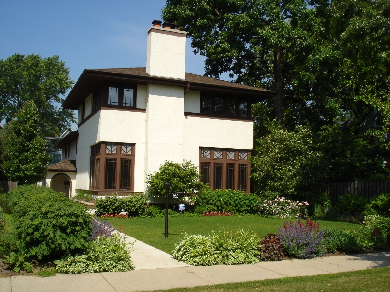 Evanston House on Sheridan Road, AFTER