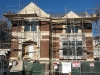 New Single Family House in Lincoln Park, construction-view