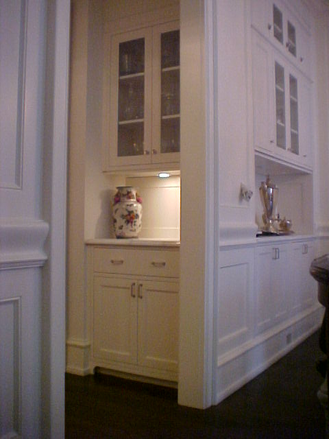 Another Single Family House on Kenmore, Remodeling.  Cabinetry built by Will Products.