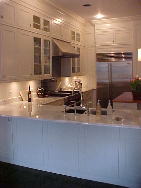 Another Single Family House on Kenmore, Kitchen.  Cabinetry by Will Products.